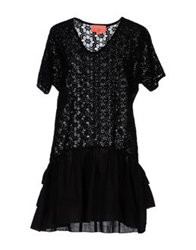 Manoush Short Dresses Black