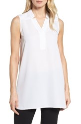 Nic Zoe Women's Forget Me Not Top Paper White