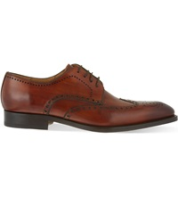 Magnanni Almond Derby Brogues Tan
