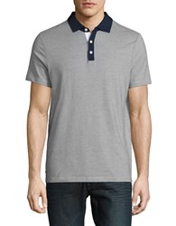 Perry Ellis Textured Performance Polo Eclipse