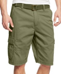 American Rag Men's Belted Relaxed Big And Tall Cargo Shorts Only At Macy's Tank