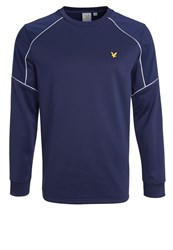 Lyle And Scott Lewis Sweatshirt Navy Dark Blue