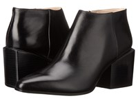 Clarks Amaline Art Black Leather Women's Pull On Boots