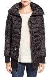 French Connection Women's Pillow Collar Bomber Jacket