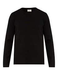 Acne Studios Lang Crew Neck Sweater Black