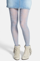 Bp Lace Tights Juniors Light Grey