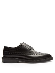 Burberry Beltran Leather Brogues Black