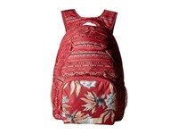 Roxy Shadow Swell Backpack Holly Berry Alabama Border Backpack Bags Red