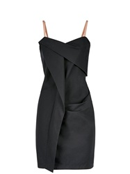 Marc By Marc Jacobs Summer Cotton Pencil Dress Black Black