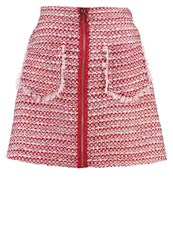 Sister Jane Saloon Jessie Mini Skirt Red