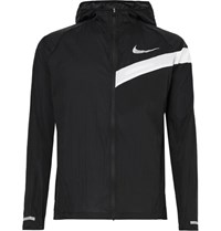 Nike Running Impossibly Light Ripstop Hooded Jacket Black