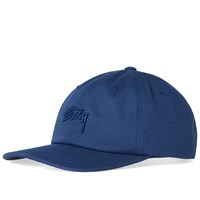 Stussy Tonal Stock Low Cap Blue