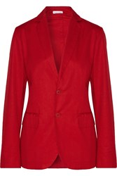 Tomas Maier Cotton Blazer Red