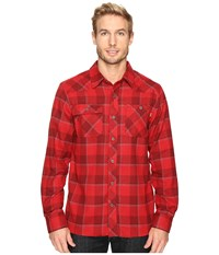Outdoor Research Feedback Flannel Shirt Agate Men's Long Sleeve Button Up Blue