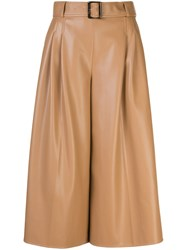 Adeam Faux Leather Palazzo Trousers 60