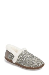 Toms Women's Multi Stripe Slipper Silver
