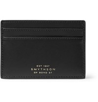 Smythson Leather Cardholder Black