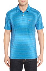 Vineyard Vines Men's Open Feeder Stripe Polo