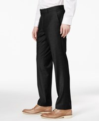 Bar Iii Men's Slim Fit Stretch Wrinkle Resistant Dress Pants Only At Macy's Black