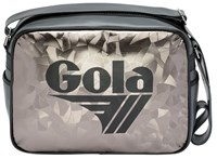 Gola Redford Metallic Abstract Messenger Bag Charcoal