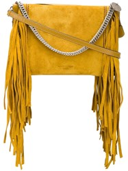Givenchy Fringed Shoulder Bag Yellow