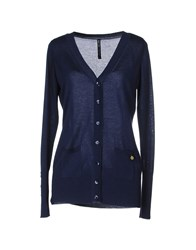 Amy Gee Knitwear Cardigans Women Dark Blue