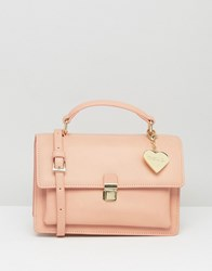 Marc B Marge Triple Compartment Cross Body Pink Blush