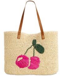 Inc International Concepts I.N.C. Kiraa Tulip Extra Large Beach Tote Created For Macy's Pink Multi
