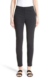 St. John Women's Collection Fine Stretch Twill Skinny Pants