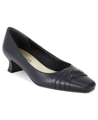 Easy Street Shoes Easy Street Tidal Pumps Women's Shoes Navy