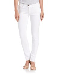 Buffalo David Bitton Faith Skinny Jeans White