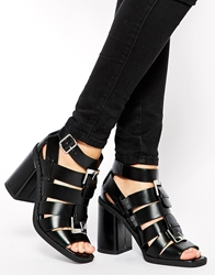 Asos Everlasting Ankle Boots Black