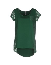 Scee By Twin Set Topwear T Shirts Women Green