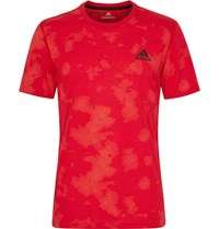 Adidas Sport Training Ultimate Printed Climalite T Shirt Red