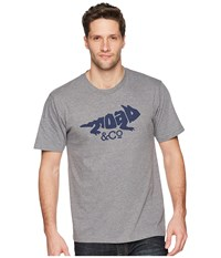 Toadandco Imbedded Toad Tee Gray Heather T Shirt