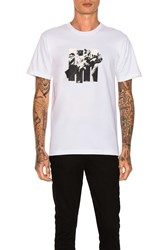 Undefeated 5 Strike Rumble Tee White