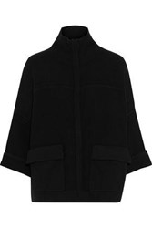 Duffy Woman Wool And Cashmere Blend Jacket Black