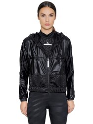 Adidas By Stella Mccartney Water Repellant Running Nylon Jacket