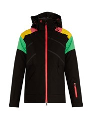 Perfect Moment Mont Blanc Ski Jacket Black Multi
