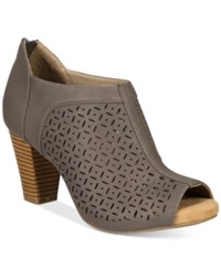 Giani Bernini Annilee Shooties Only At Macy's Women's Shoes Grey