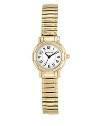 Anne Klein Stainless Steel And Mixed Metal Expansion Bracelet Watch Ak2340wtgb Gold