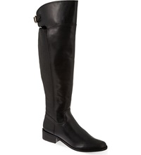 Reiss Shaftesbury Over The Knee Boots Black