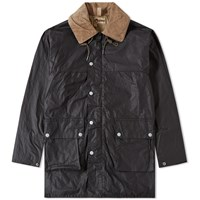 Nigel Cabourn X Lybro Boat Oil Jacket Black