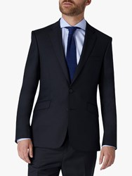 Jaeger 120S Wool Twill Slim Fit Suit Jacket Navy