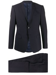 Giorgio Armani Checkered Single Breasted Suit 60