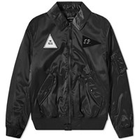 Gosha Rubchinskiy Ma 1 Patch Bomber Jacket Black