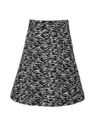 Just Cavalli High Waist Bell Mini Skirt Black Multi