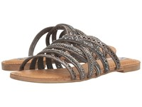 Not Rated B Me Pewter Women's Sandals
