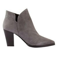 Mint Velvet Poppies Pointed Toe Ankle Boots Grey