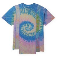 Needles Tie Dyed Cotton Jersey T Shirt Blue